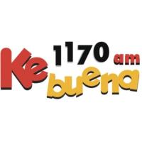 Logo de la radio XERT-AM Ke Buena 1170