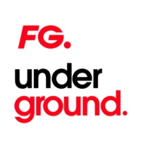 Logo of radio station FG UNDERGROUND