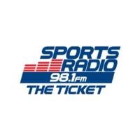 Logo of radio station KTLT The Ticket 98.1 FM