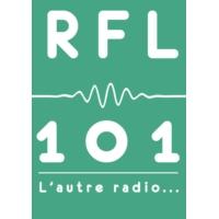 Logo of radio station RFL 101