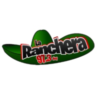Logo of radio station XHSOS La Ranchera 97.3 FM