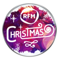 Logo of radio station RFM Christmas
