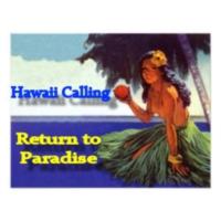 Logo de la radio Hawaii Calling Radio