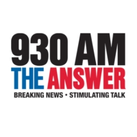 Logo de la radio KLUP 930 AM The ANSWER
