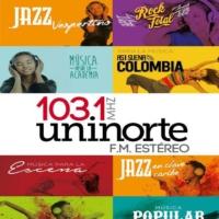 Logo of radio station Emisora Uninorte FM