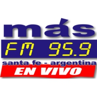 Logo of radio station Más FM