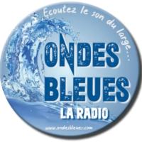 Logo de la radio ONDES BLEUES LA RADIO