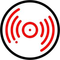 Logo of radio station Silhouette