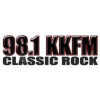 Logo of radio station KKFM 98.1Classic Rock