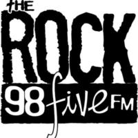 Logo de la radio The Rock 98five FM