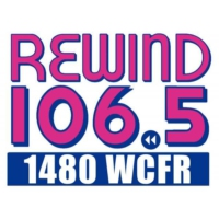 Logo of radio station 1480 WCFR