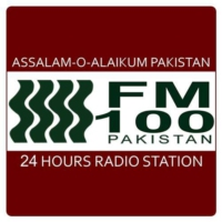 Logo of radio station FM 100 Lahore