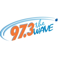 Logo of radio station CHWV-FM 97.3 The Wave
