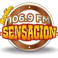 Logo de la radio XHRIO Radio Sensación 106.8 FM