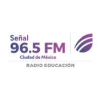 Logo of radio station XEEP Señal 96.5FM