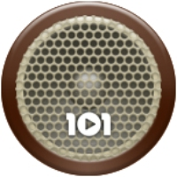 Logo de la radio 101.ru - СССР 30-50