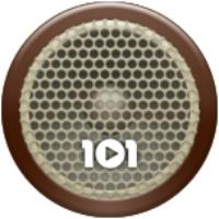 Logo of radio station 101.ru - СССР 30-50