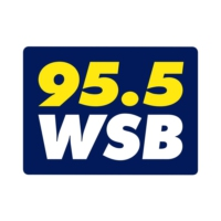 Logo of radio station 95.5 WSB