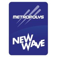 Logo of radio station Metropolys New Wave