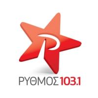 Logo of radio station Rythmós 103,1 fm - Ρυθμός 103,1 fm