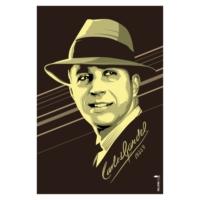 Logo de la radio Miled Music Carlos Gardel