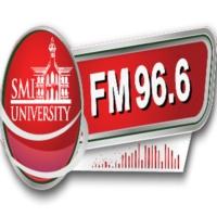Logo of radio station SMIU.FM 96.6