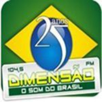 Logo of radio station Dimensao FM