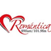Logo of radio station XHPNA Romántica 101.9 FM