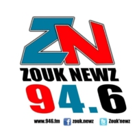 Logo of radio station Zouk Newz-radio