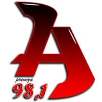 Logo of radio station Rádio Álfa 98.1 FM - Ράδιο Άλφα 98.1 FM