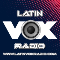 Logo of radio station Latin Vox Radio