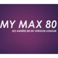 Logo of radio station MY MAX 80