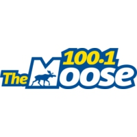 Logo of radio station CJCD-FM 100.1 Moose FM