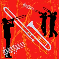 Logo of radio station JAZZRADIO.com - Swing & Big Band