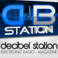 Logo de la radio Decibel Station #HARD