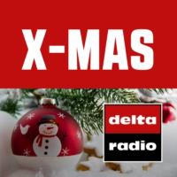 Logo of radio station delta radio X-MAS