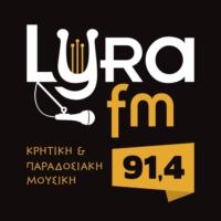 Logo of radio station Lyra FM - Λύρα FM 91.4