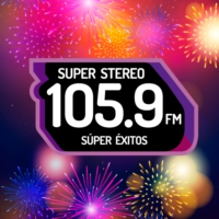 Logo of radio station XHFCY Super Stereo 105.9 FM