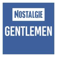 Logo of radio station Nostalgie Gentlemen