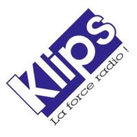 Logo of radio station KLIPS FM