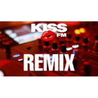 Logo of radio station KISS FM - REMIX