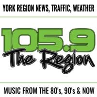 Logo of radio station CFMS-FM 105.9 The Region