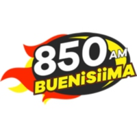 Logo of radio station XEZF Buenísima Mexicali 850 AM