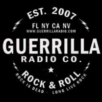 Logo of radio station Guerrilla Radio