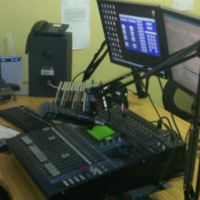 Logo of radio station Kgosi