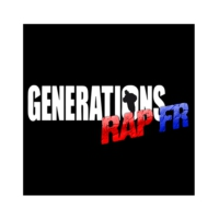 Logo of radio station Générations Rap FR