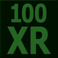 Logo of radio station 100 XR