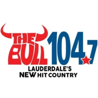 Logo de la radio WMIA-HD2 The Bull 104.7