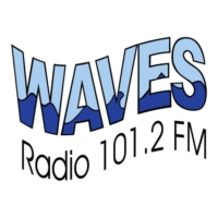 Logo of radio station Waves Radio