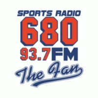 Logo de la radio WCNN 680 The Fan